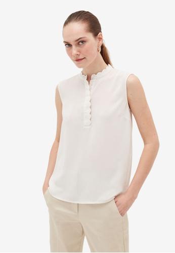 OVS white Basic Shirts 3EB6AAA668C28CGS_1