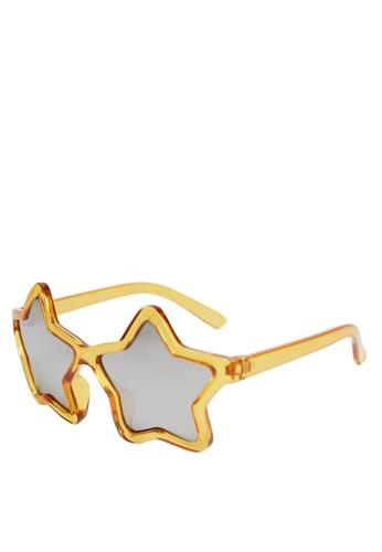 MANGO KIDS yellow Star Frame Sunglasses 3EFF7KC0DF6D6AGS_1