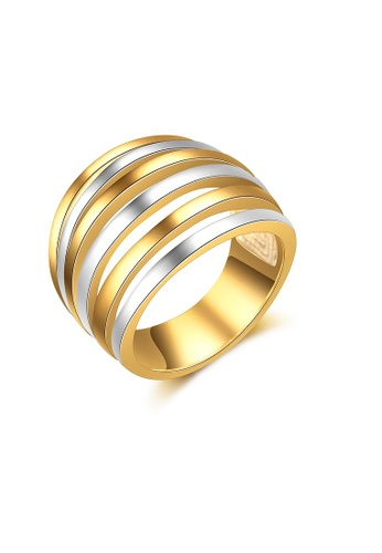 ADORA gold Twin Color Ring C54C4AC68D06DFGS_1
