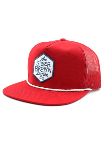 DOSSCAPS red FLIPPER Hexagon Snapback (Red) DO290AC71FOMMY_1