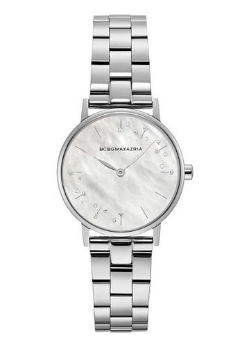 BCBG silver BCBGMAXAZRIA Silver Stainless Steel Watch CF7CEAC3280826GS_1