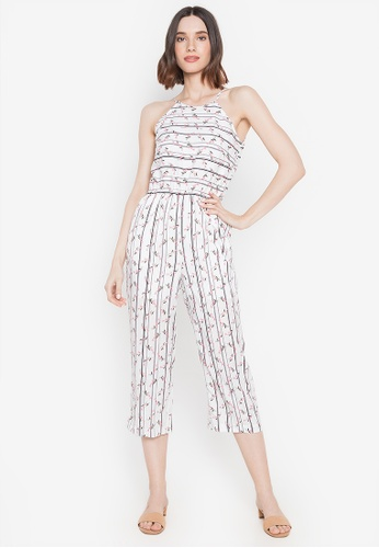 Mommy & Me by Great Kids white Halter Jumpsuit 1A21EAAE090185GS_1