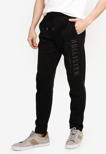 Hollister black Modern Tech Sweatpants 9BCF7AA064B711GS_1