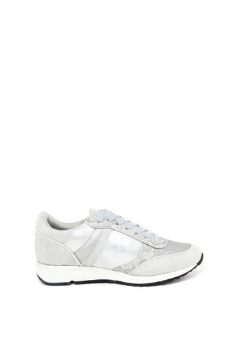 London Rag silver Cream Lace up Sneaker 9A25CSHF5669C3GS_1