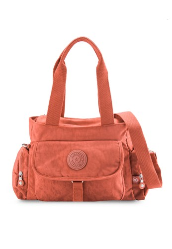 MDS Cresprit outlet 桃園inkled Nylon Fabric Convertible Shoulder Bag, 包, 肩背包
