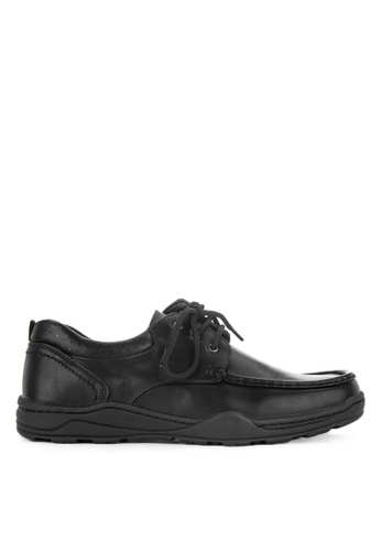 Itti black Business Formal Laced Up Shoes 15204SH57FA609GS_1