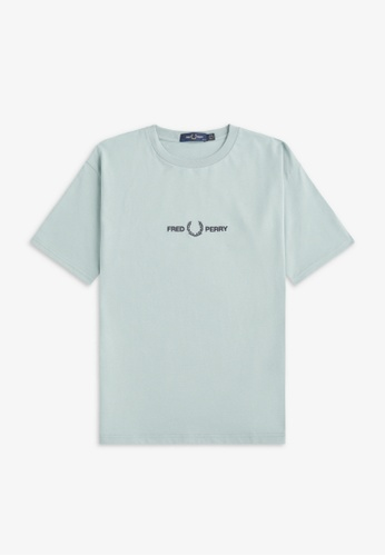 Fred Perry G8152 - Embroidered T-Shirt - (Silver Blue) EF2E5AA9D34DDCGS_1