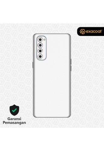 Exacoat Oppo Reno4 Pro 3M Skins True Colors - Matte White 3B5ABESF43B980GS_1