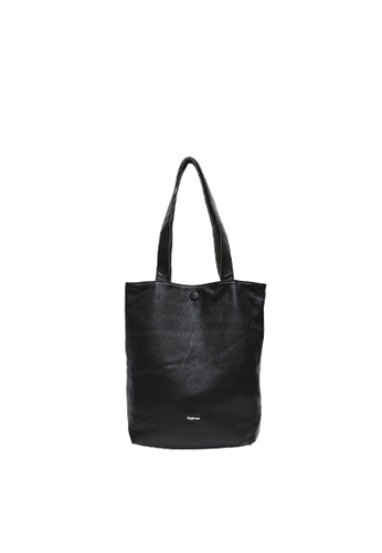 SEMBONIA black SEMBONIA REVERSIBLE BI-COLOUR SHOULDER BAG 9A5CDAC4CD5B8EGS_1