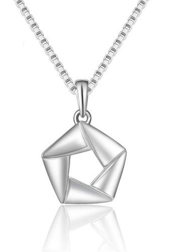 LYCKA silver LFF1227-LYCKA-S925 Silver Trendy Necklace -Silver LY529AC0HAD1SG_1
