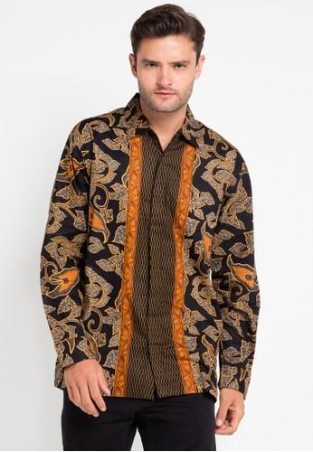 bhatara batik multi and brown Samuel BH237AA0UQQ0ID_1