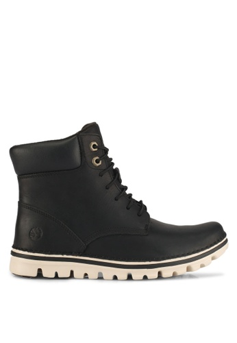 Timberland black Brookton 6 Inch Lace Up Boots 84931SH4F73E0AGS_1