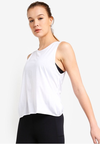 Cotton On Body white Backless Twist Tank Top 4BAF9AA250C17BGS_1