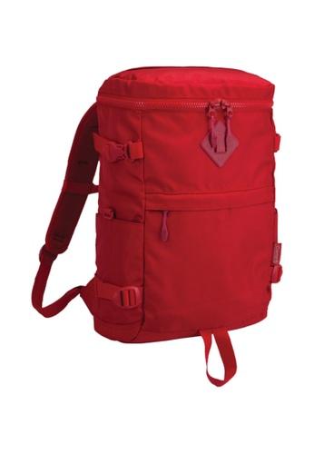 Coleman red Atlas Quadra Travel Backpack 24D83AC30BDBB1GS_1