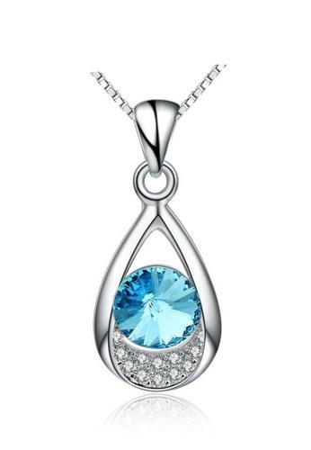 LYCKA silver LPP88090 S925 Silver Necklace 552AAACA59062FGS_1