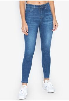 12f59e3c5ad2da Freego blue Women Basic Five Pocket High Waist Shape Up Legging Jeans  6C863AA351A223GS_1