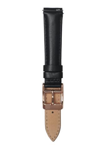 Ruby Lane black Ruby Lane 16mm Leather Strap F600EAC84DE912GS_1