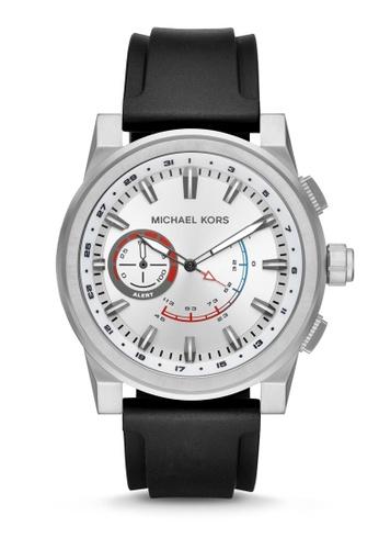 d149a589bdf0 MICHAEL KORS black Michael Kors Grayson Smart Watch MKT4009  8A92CAC8708817GS 1