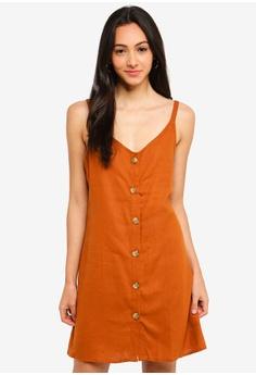 d6883e87efbd Cotton On brown Woven Margot Slip Dress 55275AA7A7385BGS 1