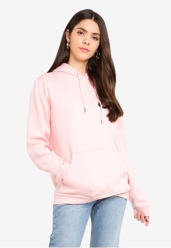 Factorie pink Basic Hoodie E2857AAAAE4626GS_1