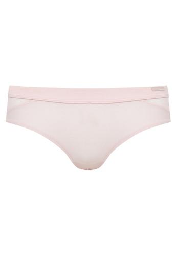 Calvin Klein Underwear beige Fashion Push Positive Hipster Natural Lingerie A5C5DUSF96A436GS_1