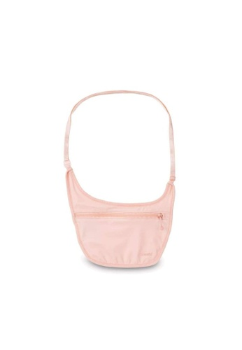 Pacsafe pink Pacsafe Coversafe S80 Secret Travel Body Pouch (Orchid Pink) A7B7DAC3FE0AB4GS_1