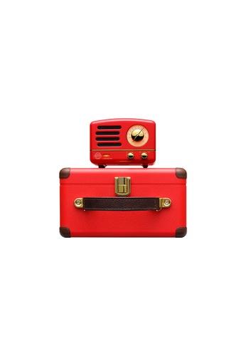 MUZEN red Muzen OTR Metal Crimson Red Portable Audio Speakers with FM Radio. C1DDDESCA5ABE8GS_1