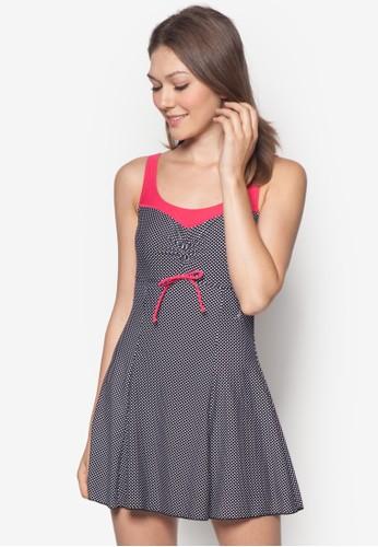 一esprit tote bag件式撞色洋裝泳裝, 服飾, 泳裝及海灘裝