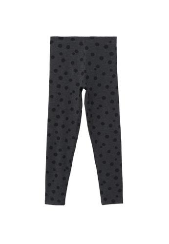MANGO KIDS grey Printed Cotton Leggings 56D12KA229D8ACGS_1