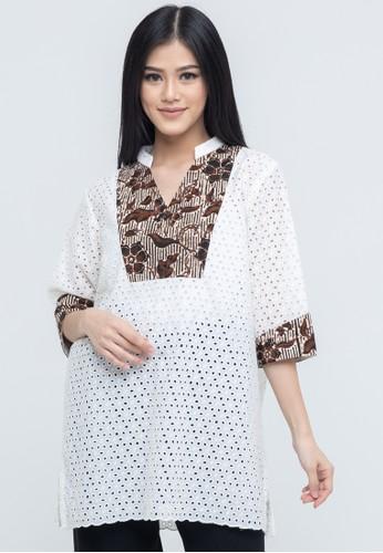 SAVI Batik white Gypsy Top Batik Lace 04A6AAA6307F1EGS_1