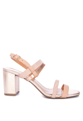 e68a01b2c042 Shop Mendrez Athena Heeled Sandals Online on ZALORA Philippines