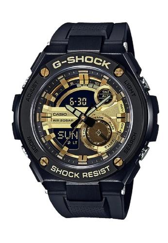 G-Shock black and gold G-Shock GST-210B-1A9DR Black Gold 2311EAC439B6DAGS_1