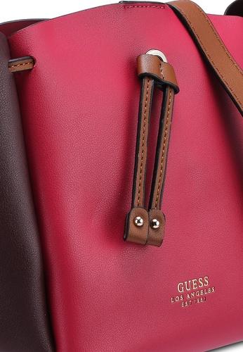 b5dc2a3c6567 Buy Guess Ella Mini Bucket Bag Online