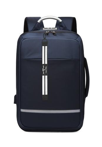 Twenty Eight Shoes blue Business Laptop Backpack 3687 A1898ACAB6B63FGS_1