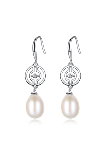 A.Excellence white Premium White Pearl Elegant Earring 167F3AC511EF93GS_1