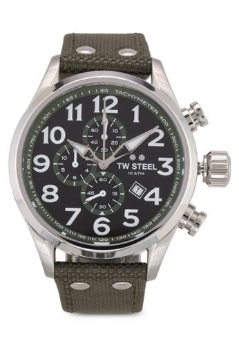 TW Steel green Volante VS23 Watch E709CAC1809C7FGS_1