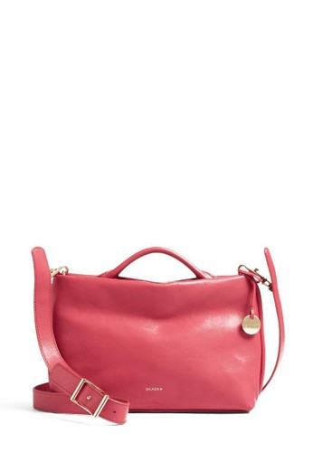 SKAGEN red Skagen Mikkeline - Leather - Mini Satchel - Tas Skagen Wanita - SWH0234649 2758EAC8367376GS_1