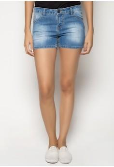 Lara Low Rise Super Skinny Hot Shorts