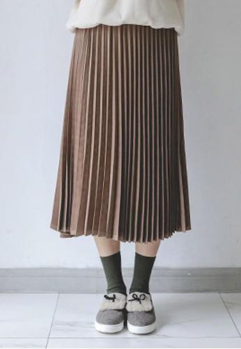 百褶中裙, 服飾, esprit旗艦店及膝裙