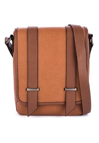 Call It Spring brown Chorelian Messenger Bag C4B40AC96A21CCGS_1