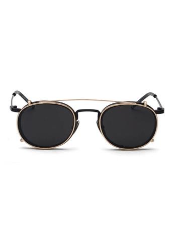 Buy Kyfer\'s Eyewear & Essentials Vintage Metal Frame w Clip On ...