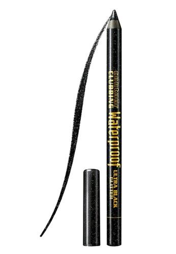BOURJOIS black Bourjois Contour Clubbing Waterproof Eyepencil #55 Ultra Black Glitter BO885BE74NFHSG_1