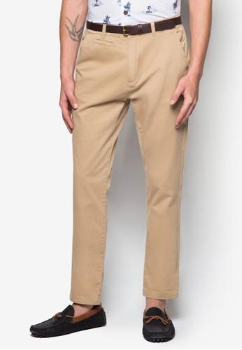棉質貼身休閒長褲,zalora 評價 服飾, 服飾