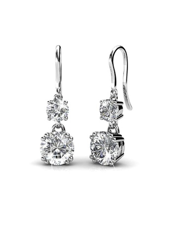 49aa0499f4671 Swarovski Clear Crystal Earrings