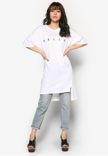 Hello T-Shirt Dress、 服飾、 洋裝NAINHelloT-ShirtDress最新折價