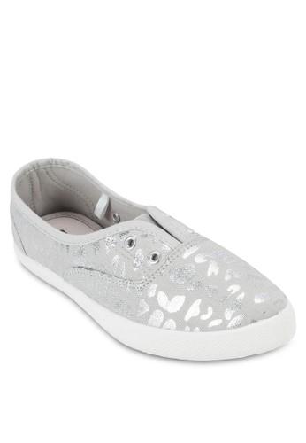 Carmsalon esprit 香港en 尖頭膠底帆布鞋, 韓系時尚, 梳妝