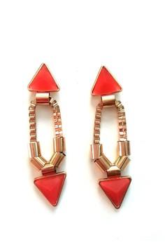 Faceted Gemstone Earrings