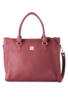 MJ Shoulder Bag with Detachable Sling