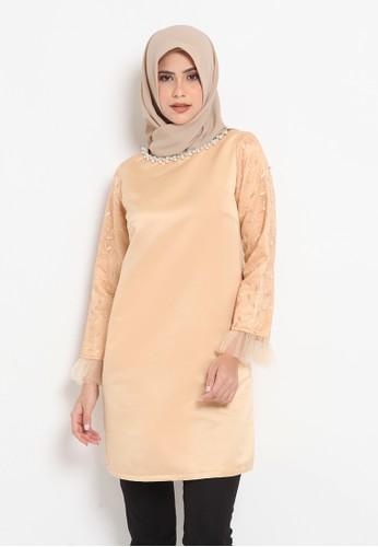 Heart n Feel Muslim gold Shamilla Gold Tunic 39406AA9F88B32GS_1