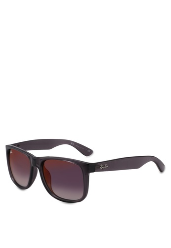 Ray-Ban black RB4165F Sunglasses 26D73GL57B7D77GS_1